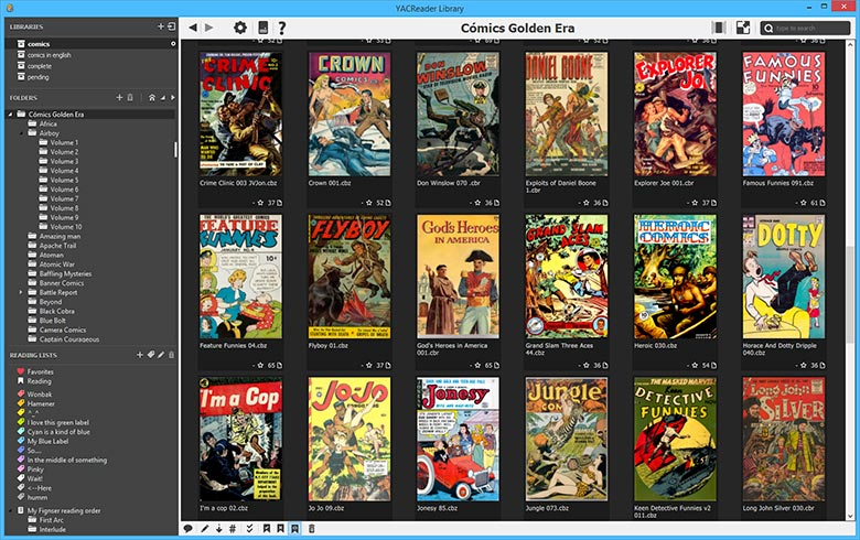 yac comic reader