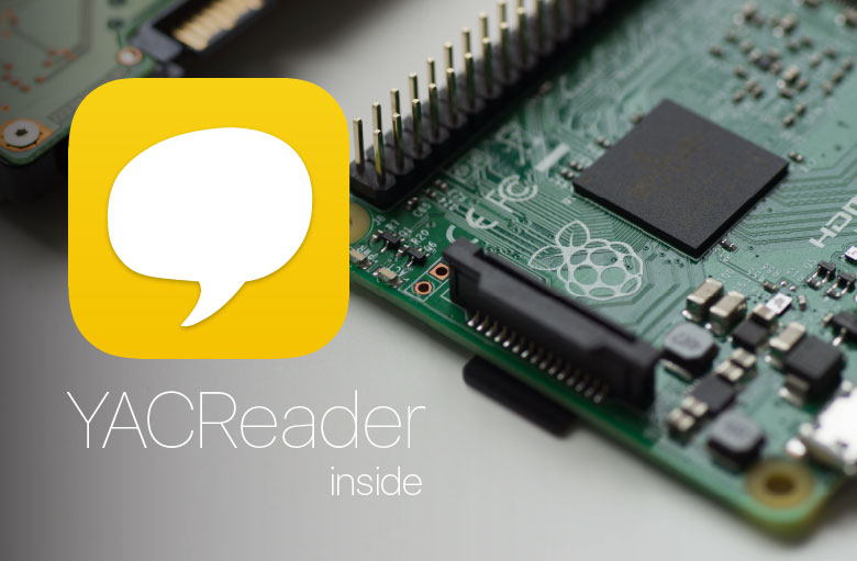 YACReader in Raspberry Pi